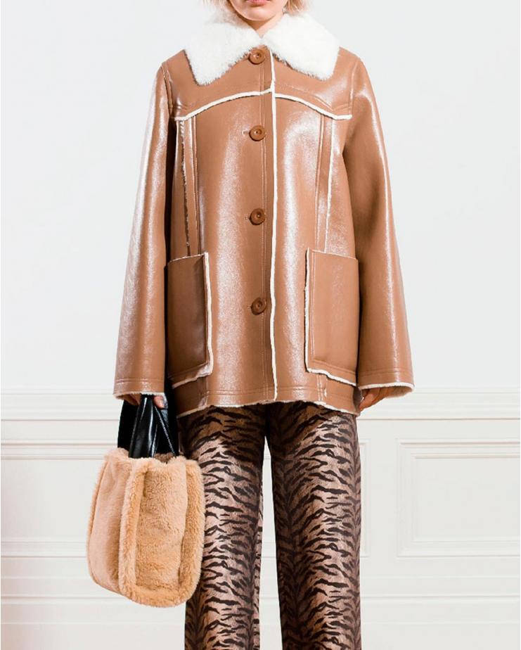 Equal Jacket in Hazelnut