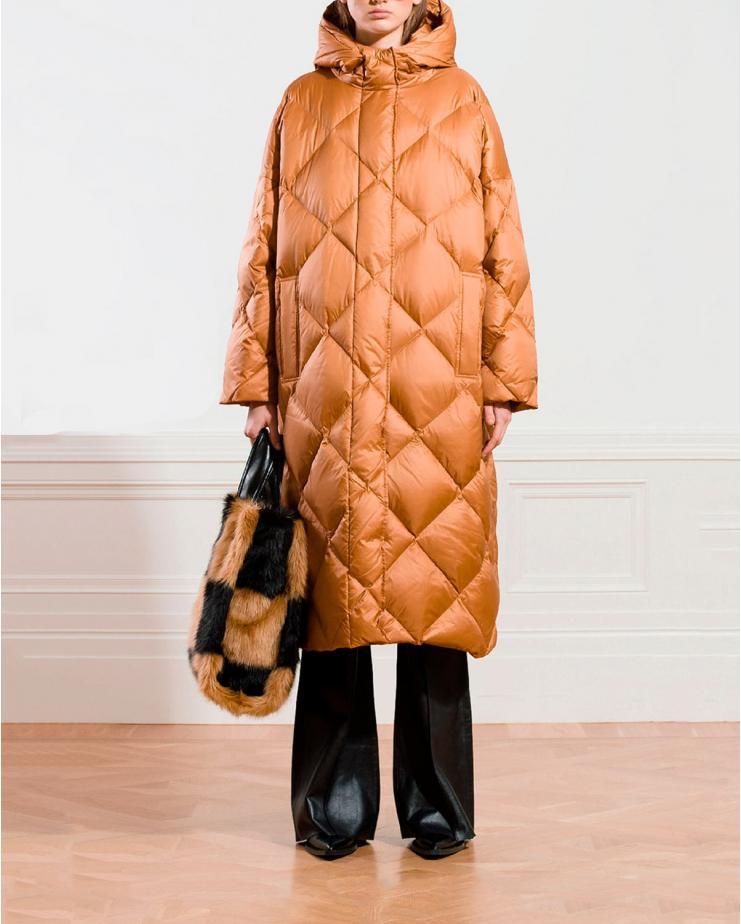 Farrah Coat in Caramel