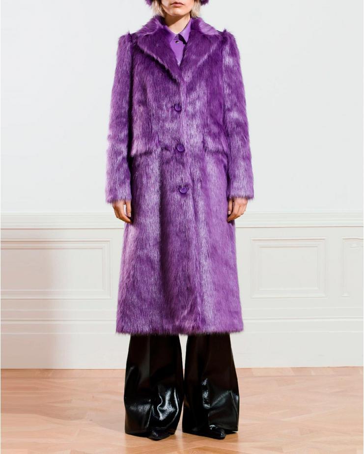 Kathy Coat in Topaz Purple