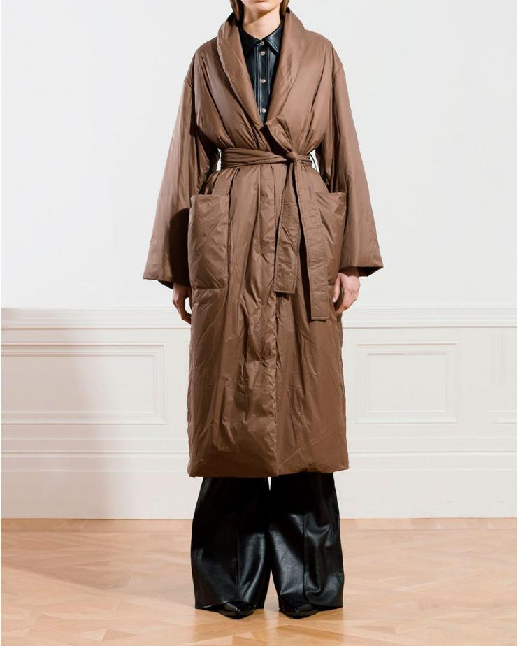 Maika Coat in Khaki