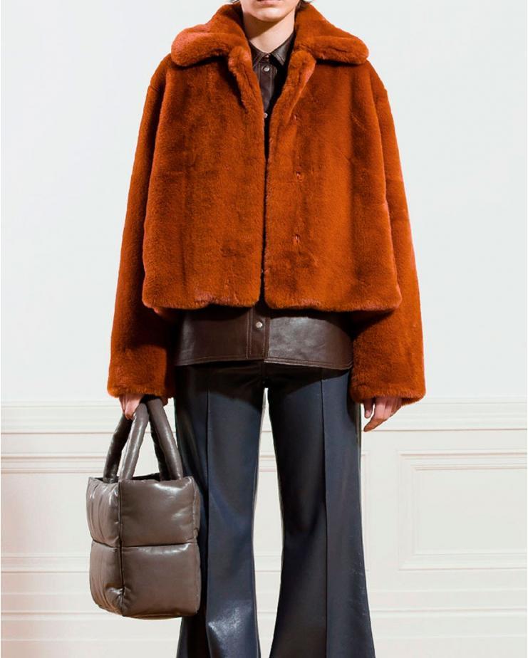 Marcella Jacket in Rust