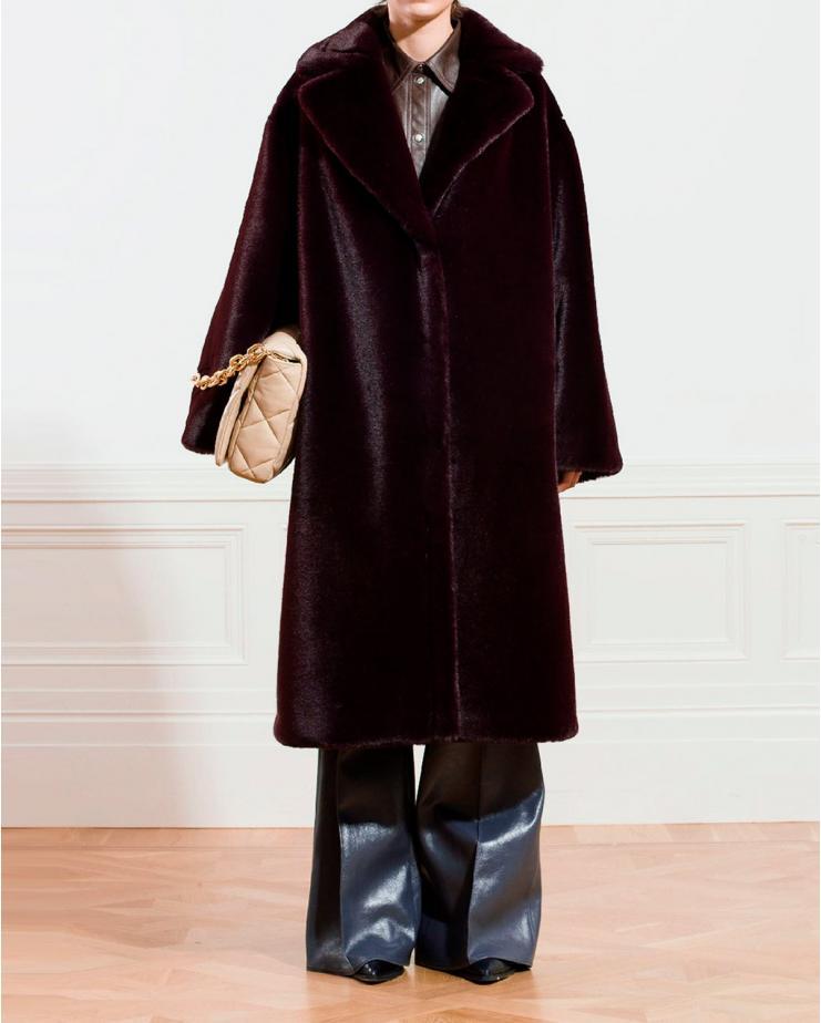 Maria Soft Teddy Coat in...