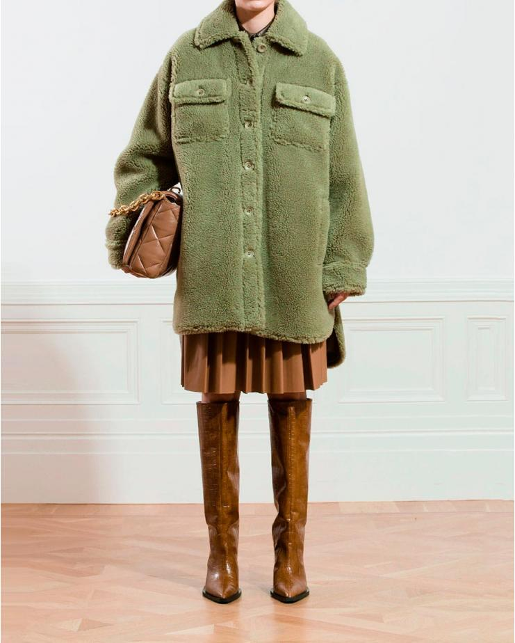 Sabi Jacket in Pea Green