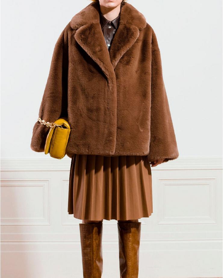 Savannah Jacket in Brown