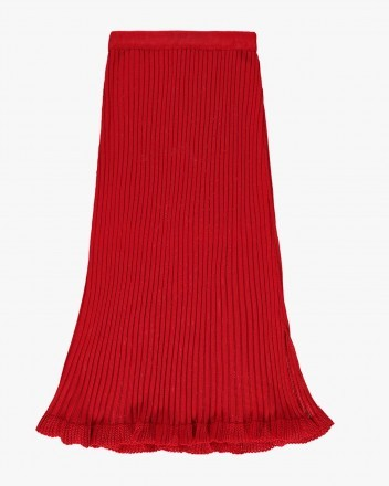 Ally Skirt in Red