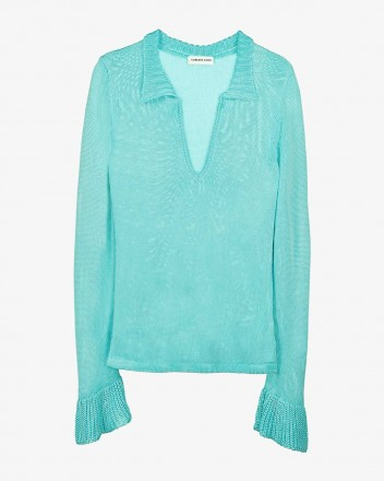 Swang Blouse in Blue