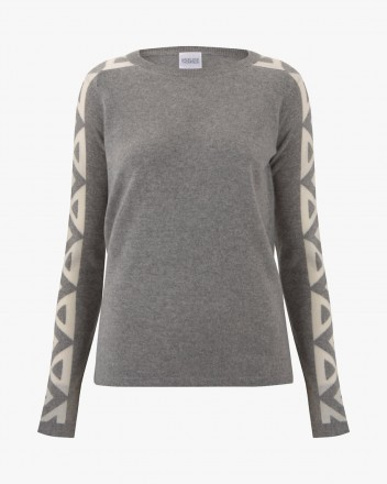 Uncle Buck Top in Grey