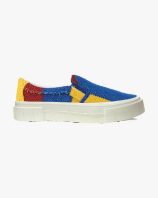 Yess Moroccan Sneakers in Navy