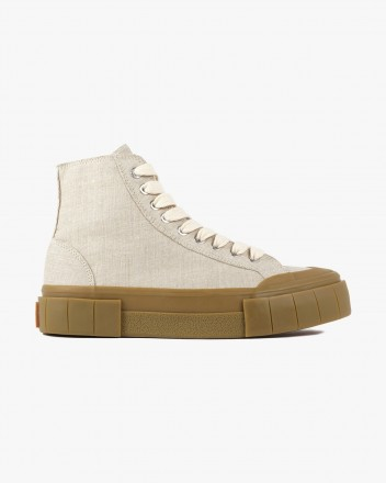 Palm Sneaker in Linen