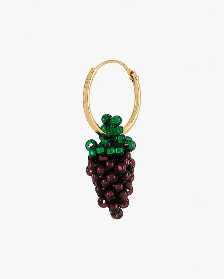 Mini Grape Earring