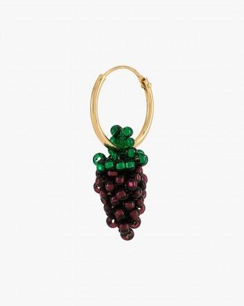Mini Grape Earring