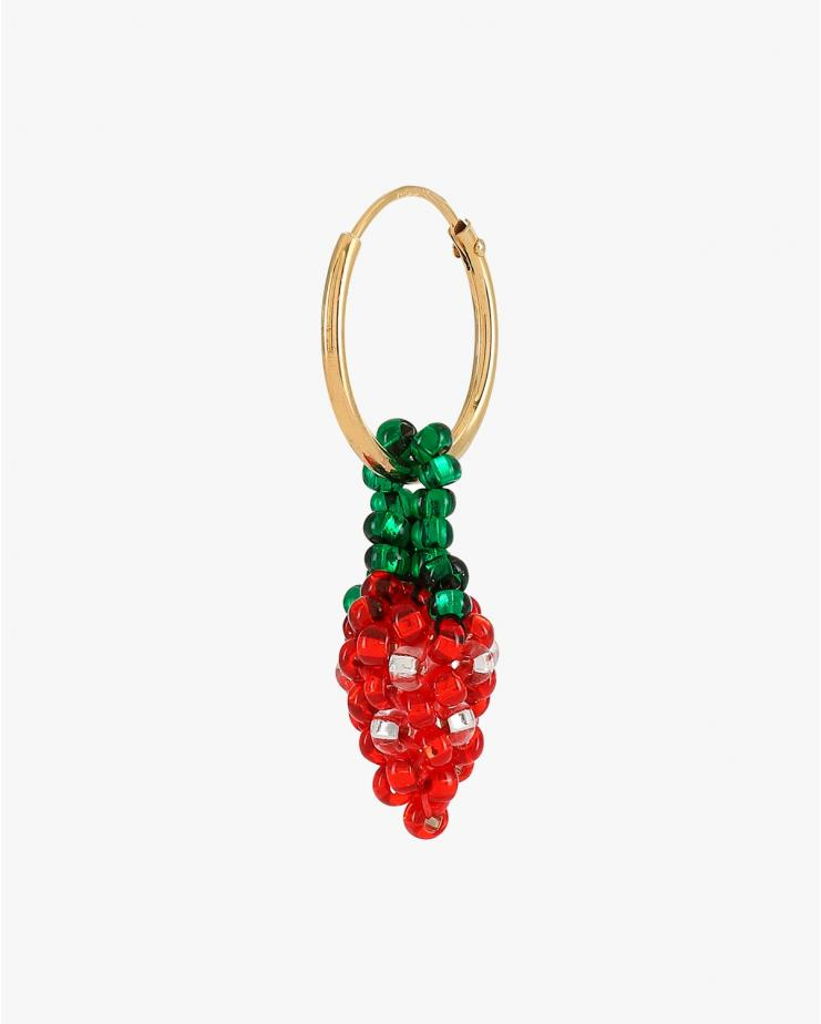 Mini Strawberry Earring