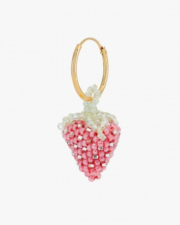 Pale Strawberry Earring