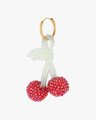 Bright Cherry Earring
