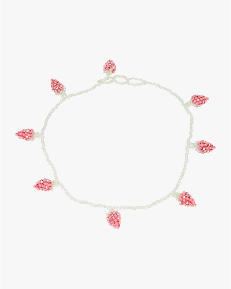 Pale Strawberry Necklace