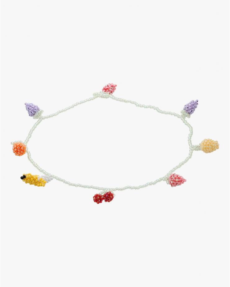 Pale Fruit Salad Necklace