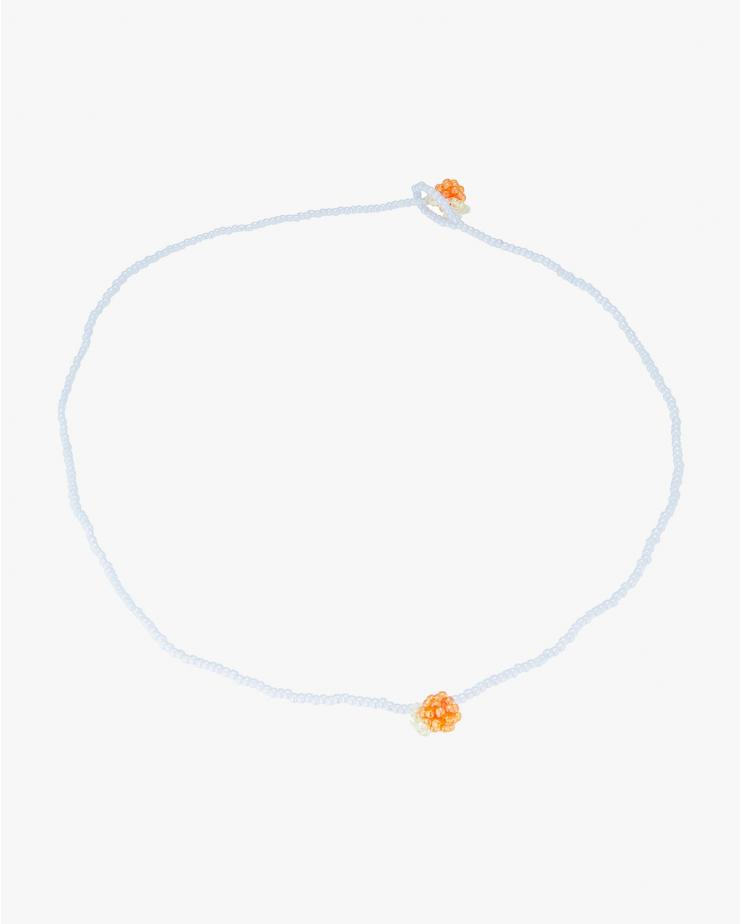 Simple Orange Necklace