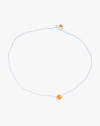 Simple Orange Necklace