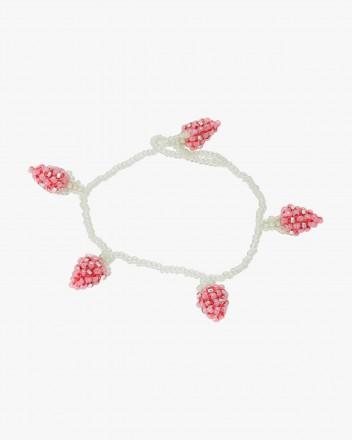 Pale Strawberry Bracelet