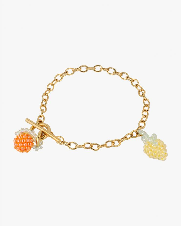 Orange and Lemon Bracelet