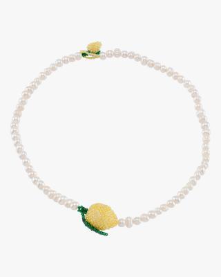 Pearl Lemon Necklace