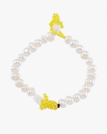 Pearly Banana Bracelet