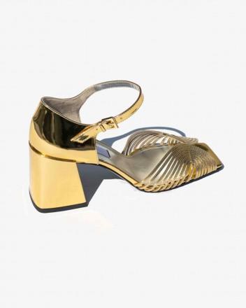 High 70s Sandal in Gold