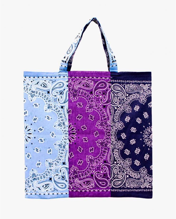 Bandana Bag in Mix Violet