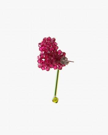 Celosia Cristata Earring