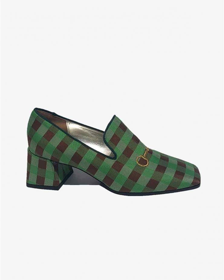 Vichy Smoking Loafer in...