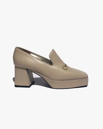 Nappa Platform Loafer
