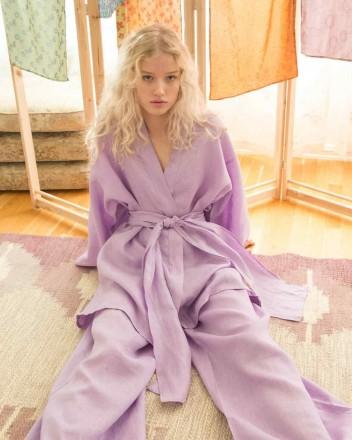 Niko Kimono in Lilac