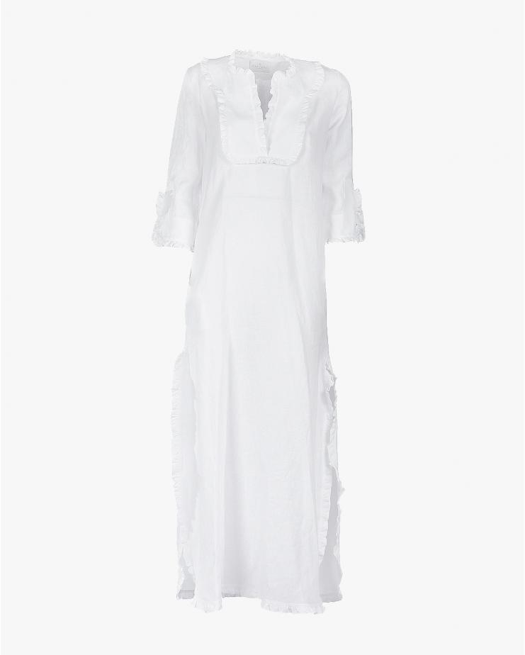 Vittoria Caftan in White