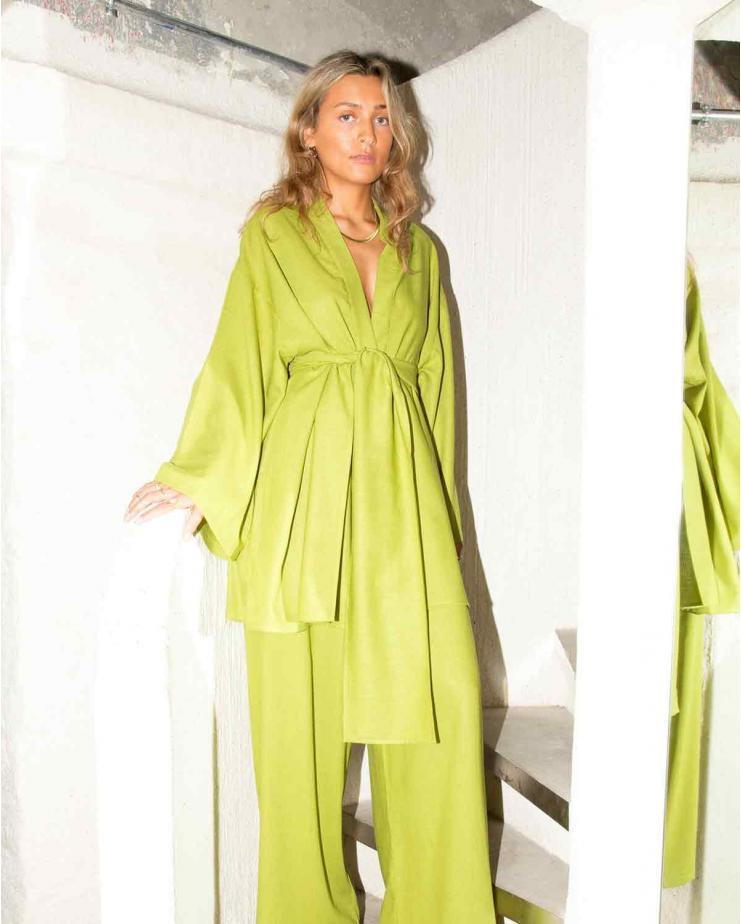 Niko Kimono in Green