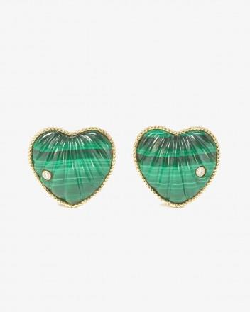 Coeur Coquillage Earrings...