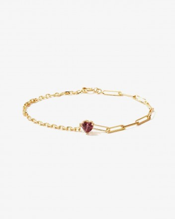 Solitaire Bracelet in Gold...