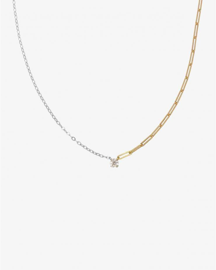 Collier Solitaire Diamond...