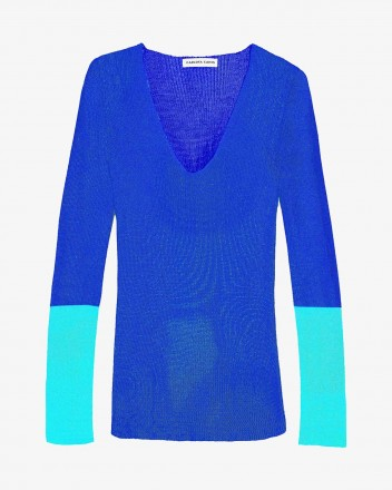 Pitch Blouse in Blue