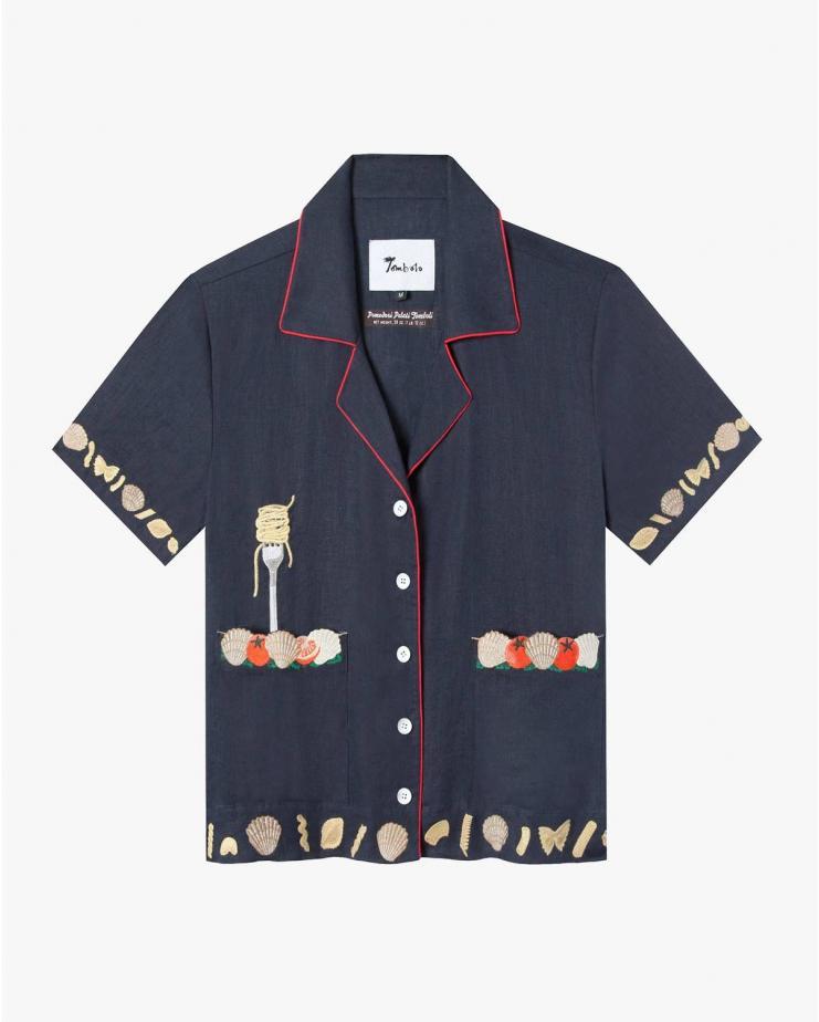 Vongole! Cabana Shirt