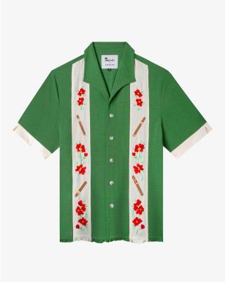 Humo de La Habana Shirt in Green