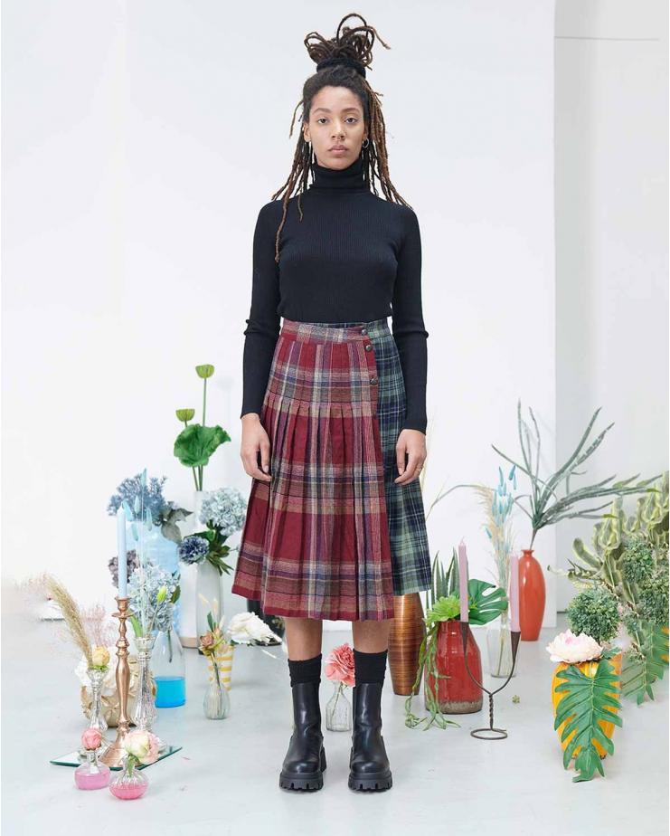 Gala Patchwork Skirt