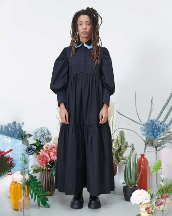 Winona Long Chemisier Dress