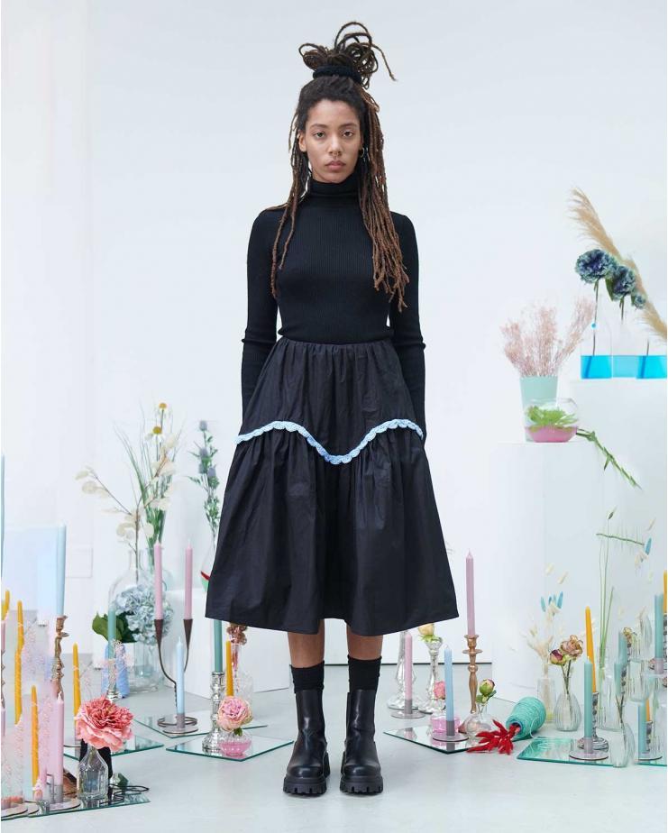 Petunia Ruffle Skirt