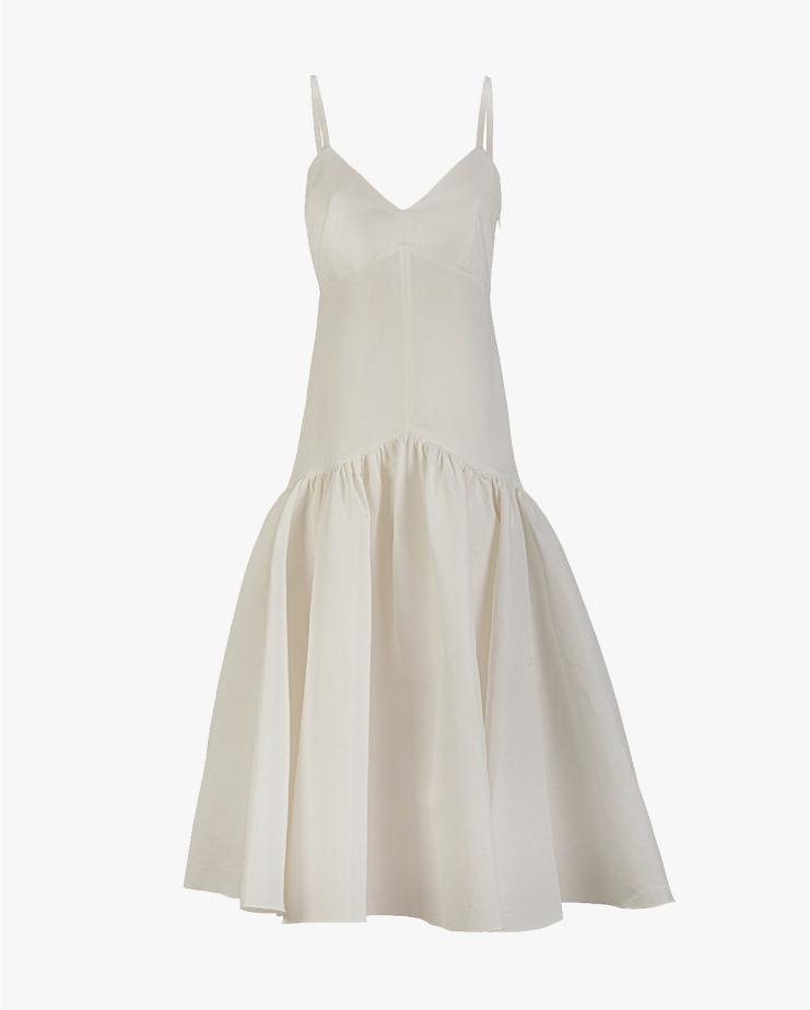Maya Cocktail Dress in White