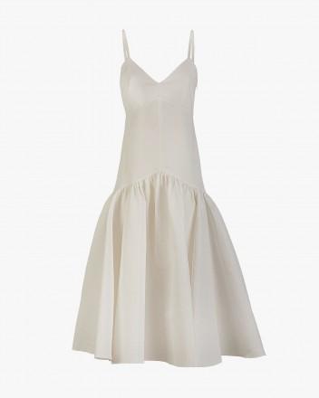 Maya Cocktail Dress in White