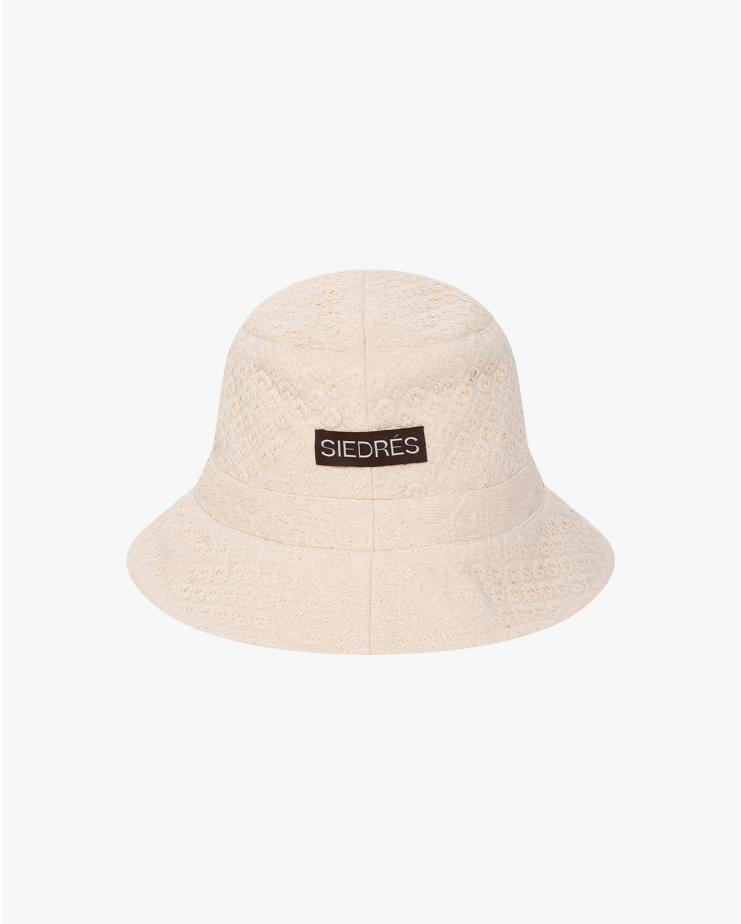 Ete Bucket Hat in Ecru