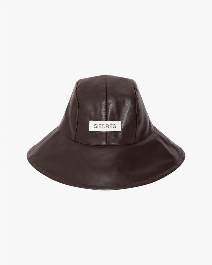 Suni Bucket Hat in Brown