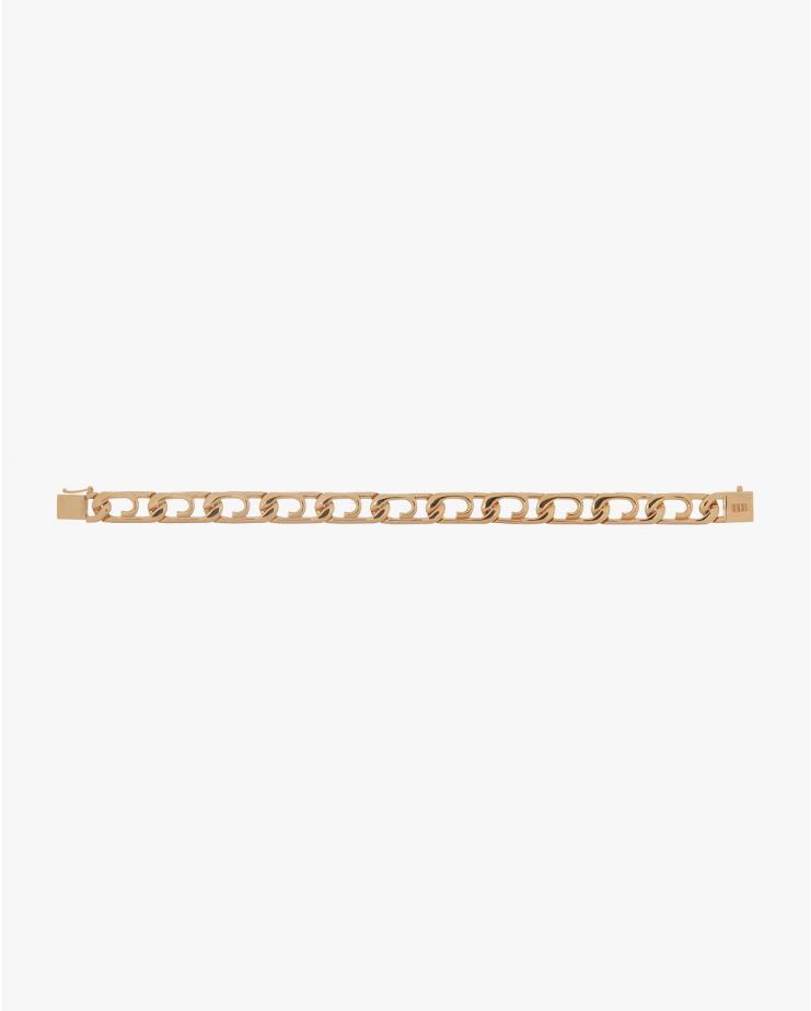 Curb Paperclip Bracelet