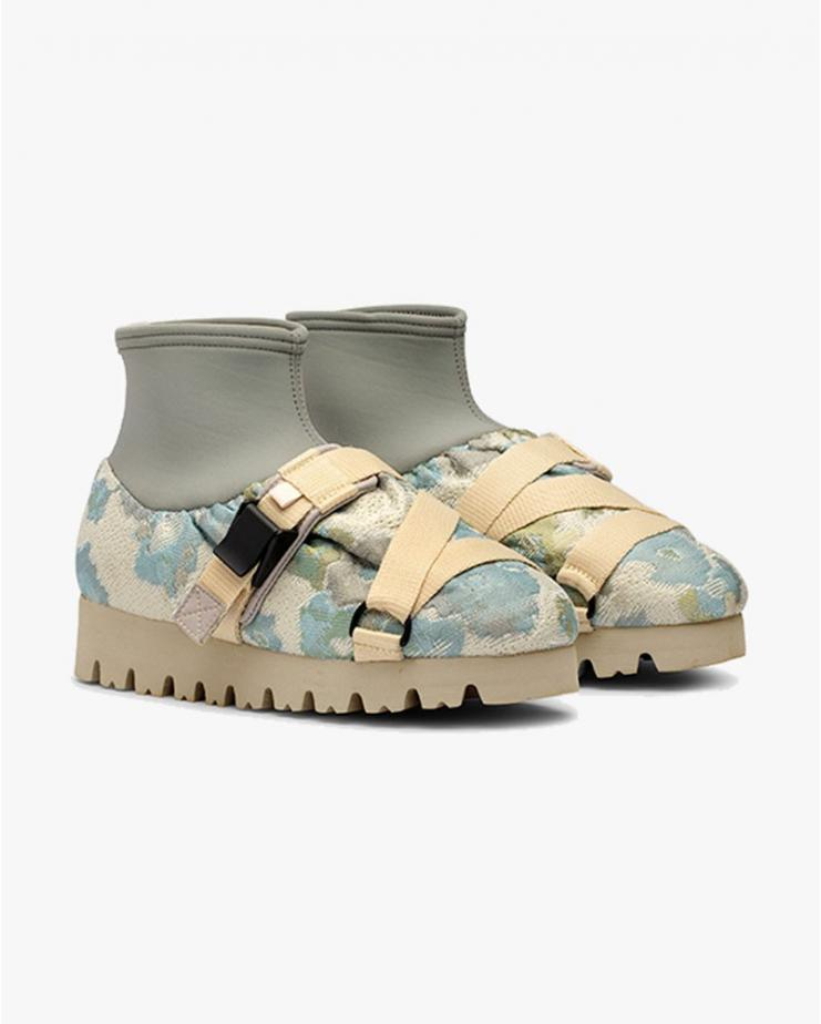 Camp Shoe Flower Jacquard Mid
