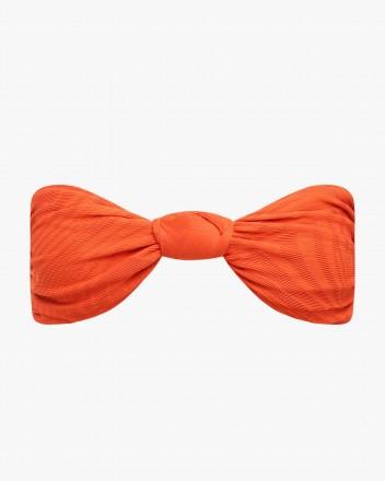 Hunter Top in Spice Orange